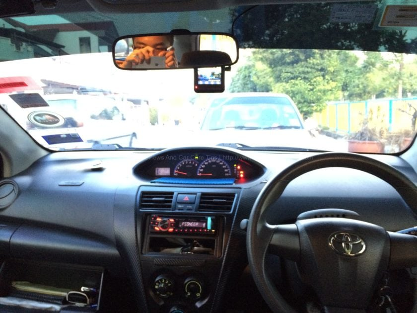 DrivePro 200 in the Toyota Vios 2