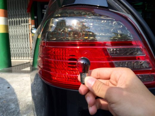 Burnt Out Toyota Vios Tail Light Bulb
