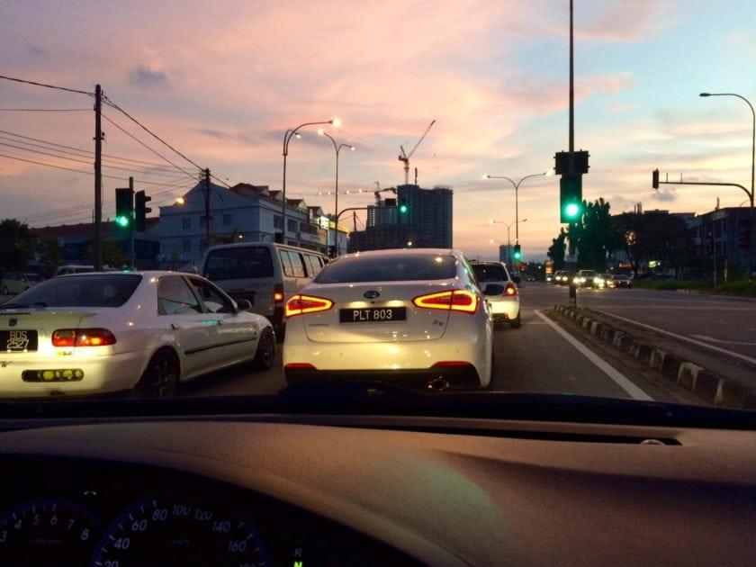 Kia Cerato 2.0 Rear View