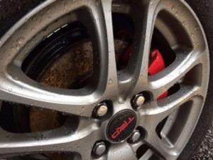 Disc Brake Dust Problem?