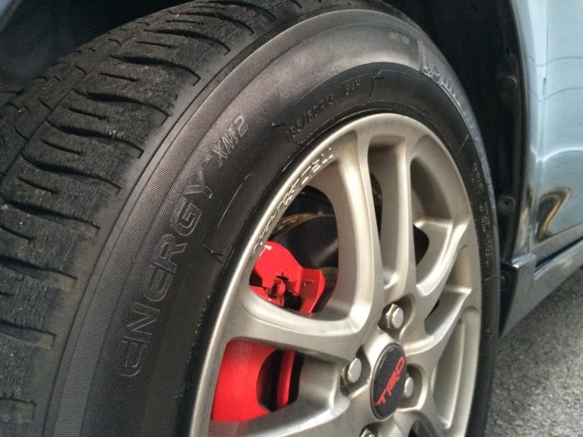 Michelin XM2 Tyre with TRD Wheel