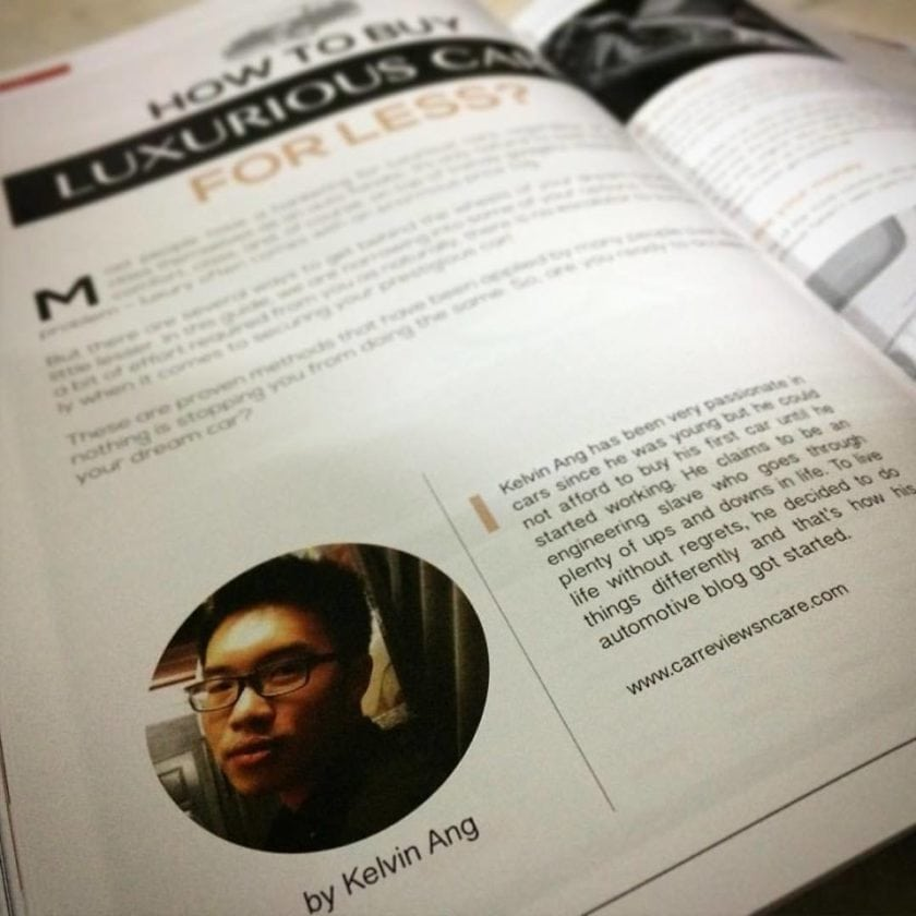 Kelvin Ang on CLOUDHAX magazine!