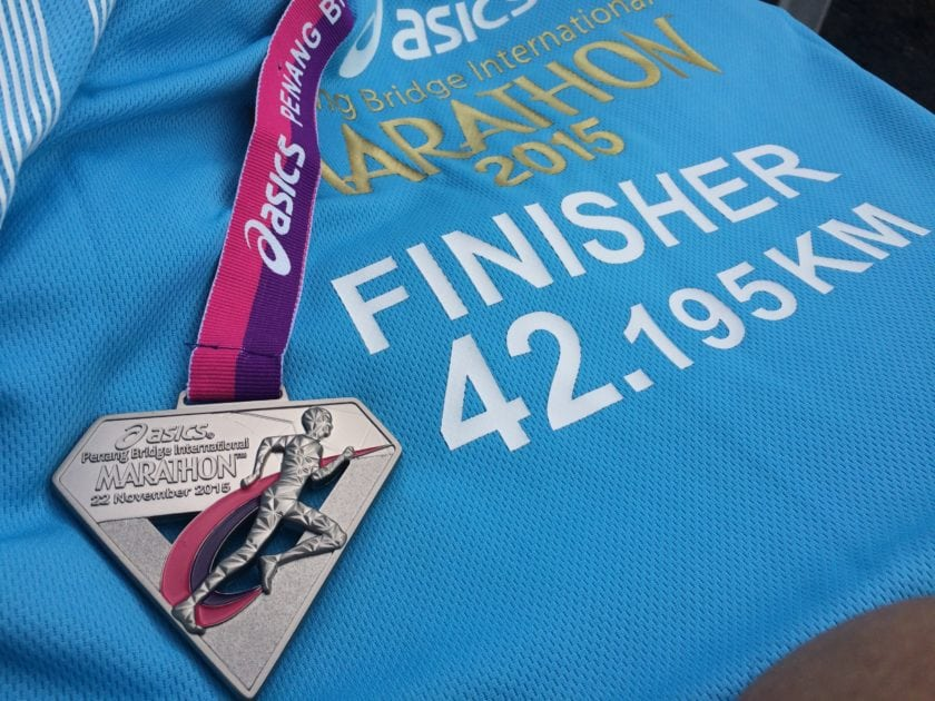 Full Marathon 42.195km Finisher