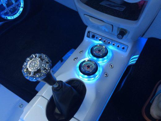 VIP Style Gear Knob in Perodua Myvi