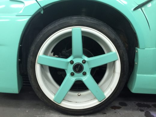 17 inch Wheel on Perodua Myvi