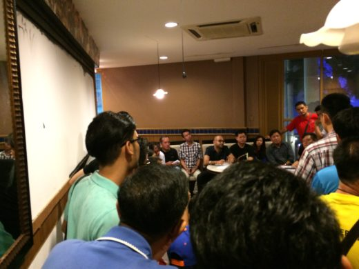 Open Session meeting with Uber drivers in Penang