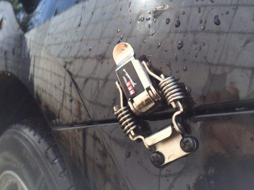 Universal Bumper Clip in Toyota Vios Bumper