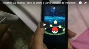 Pokemon Go Tutorial | How to throw a Curve Pokeball to Pokemon