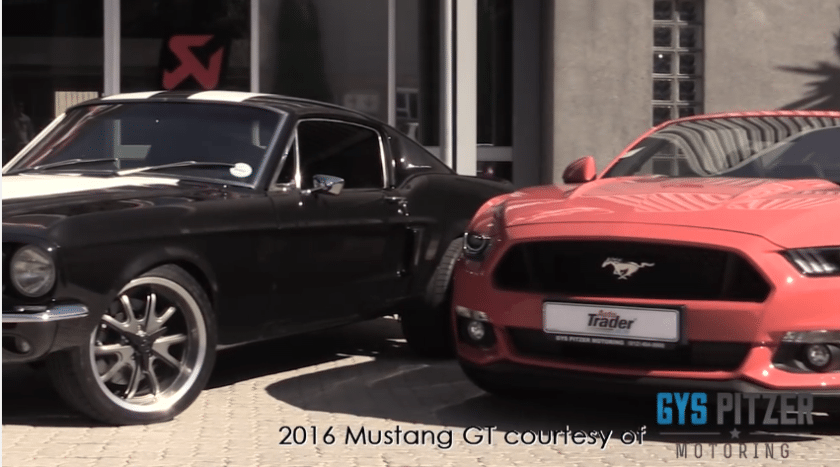 1967 Ford Mustang vs 2016 Ford Mustang GT ft DJ Fresh