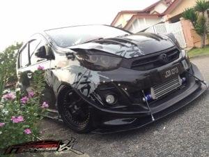 Black Perodua Myvi from Aaron