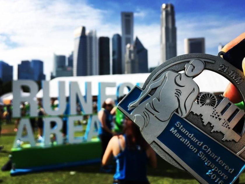Standard Chartered Marathon 2016 medal