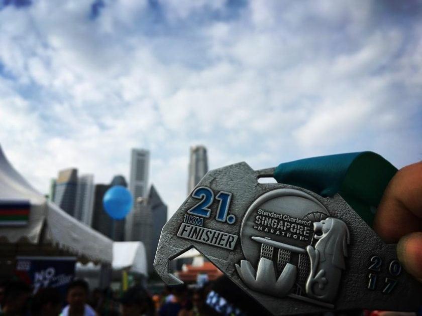#SCSM2017 Half Marathon Medal