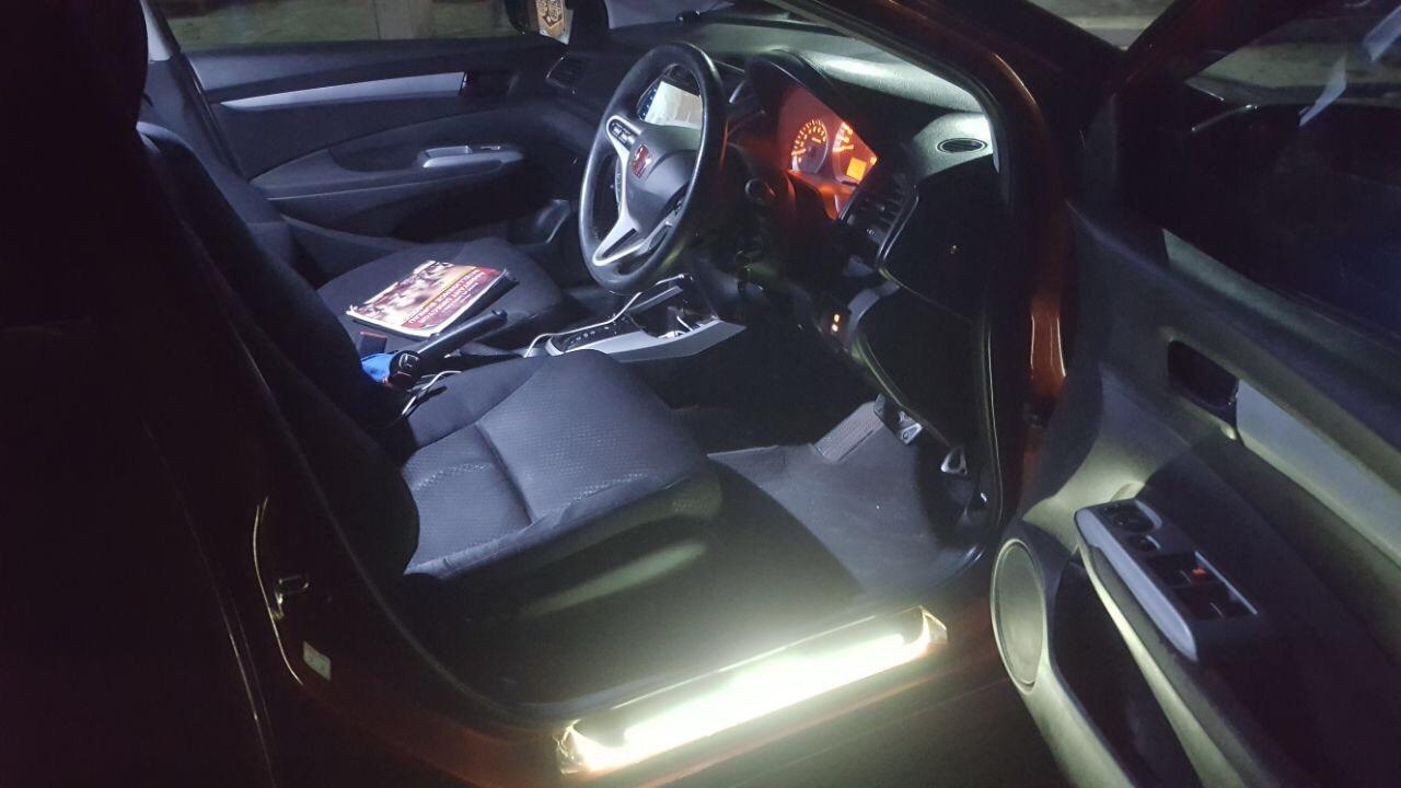 Honda City Interior with LEDs
