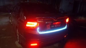 Honda City with LED and Day Light Running (DLR) by Apollo 11