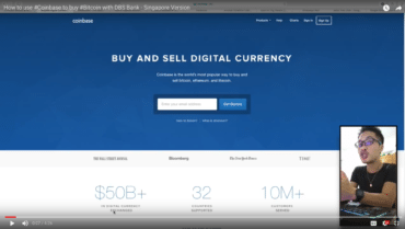 How to use #Coinbase to buy #Bitcoin with DBS Bank – Singapore Version
