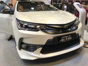 Toyota Altis TRD Sportivo 2018 in Singapore