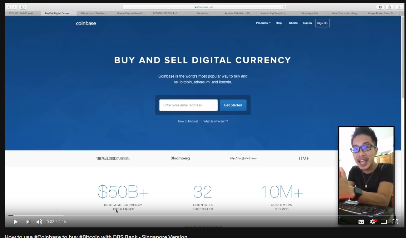 Tutorial About How to Buy Bitcoin with Coinbase