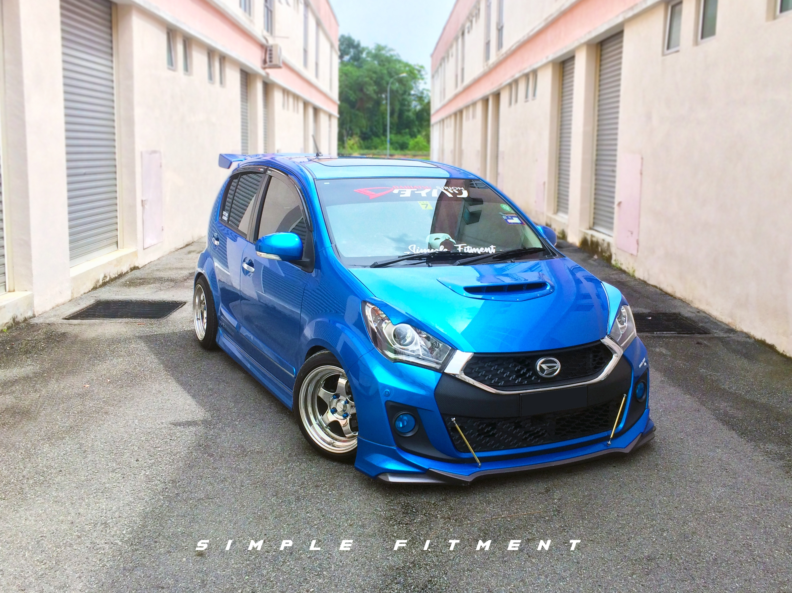 What is the car body kit for?