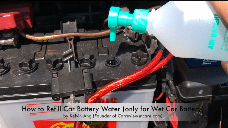 How To Refill Car Battery Water In 2 Minutes