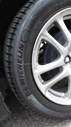 Michelin-Tyre with TRD Sport Rim