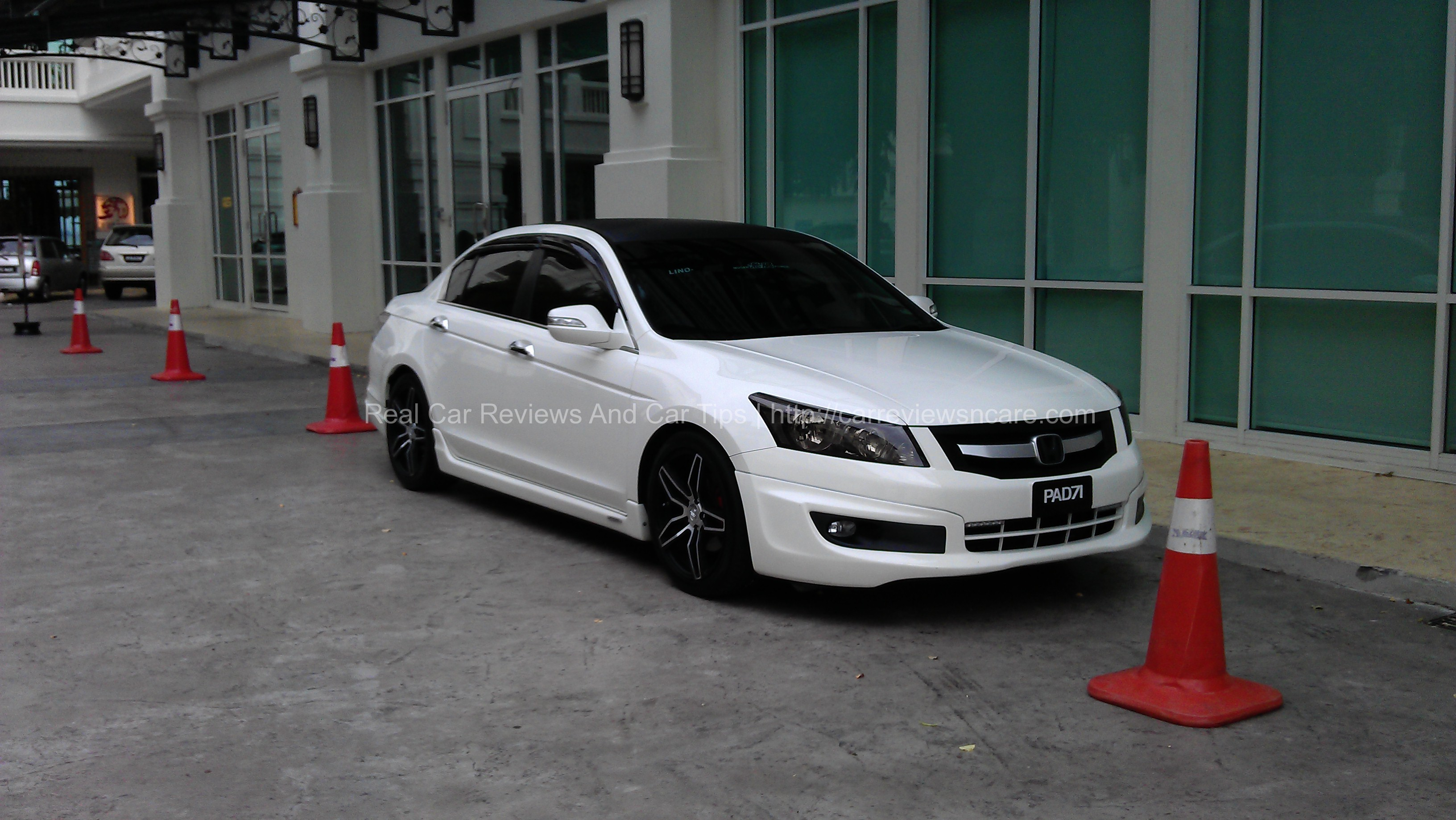 Honda Accord 2 0 Front View Modified