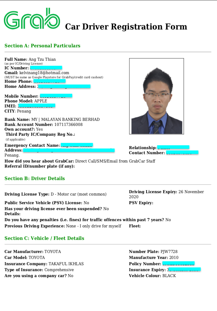 How To Drive Grab In Penang Beginner Version Potential Earning Up To Rm10000 Month Car Rc