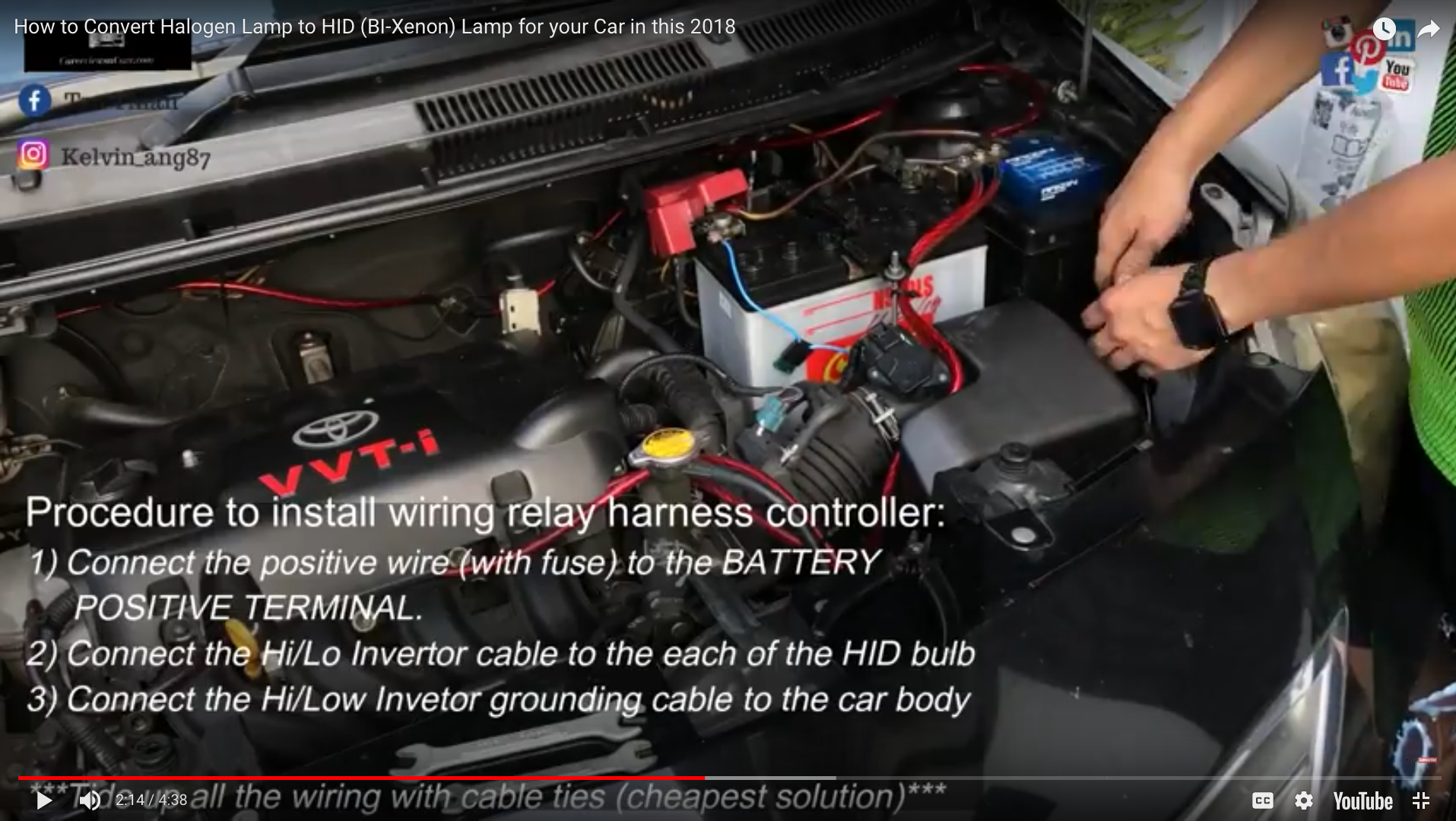 Amazing How To Convert Halogen Lamp To Hid Bi Xenon Lamp In The Car Anti Wiring Digital Resources Pelapshebarightsorg
