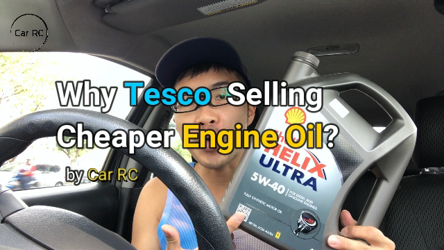 Why Tesco Extra Selling Cheaper Engine Oil? | Car RC